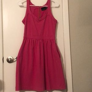 Cynthia Rowley pink dress with pockets